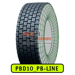 315/70R22.5 PB Line PBD10  CN